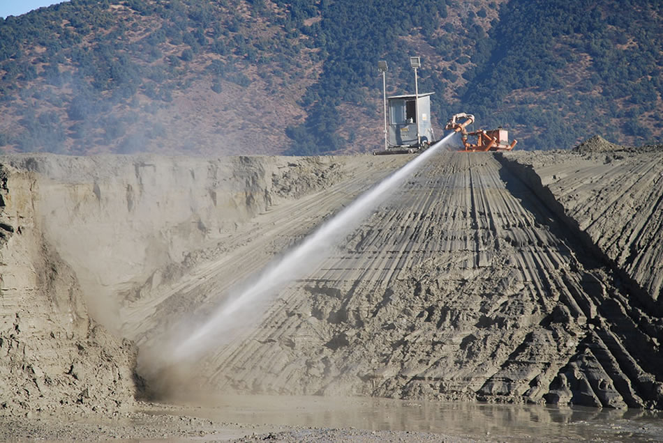 Historic Tailings - Hydraulically Extracted